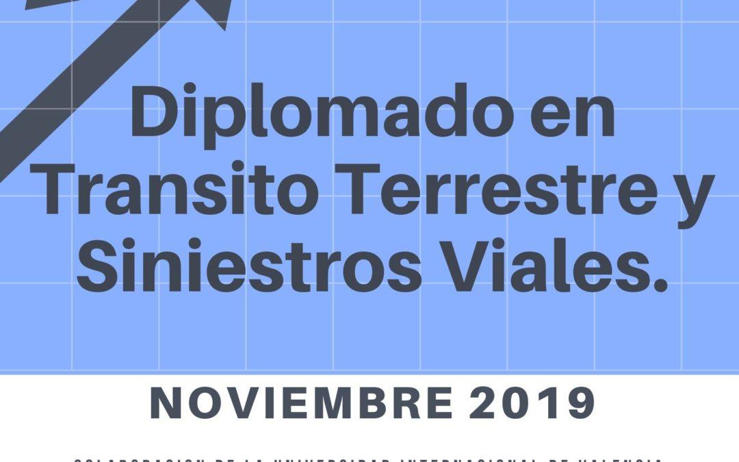 DIPLOMADO EN TRÁNSITO TERRESTRE Y SINIESTROS VIALES